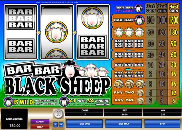 Bar-Bar-Black Sheep